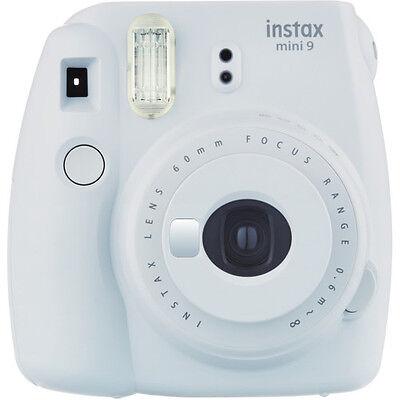 Fujifilm instax mini 9 Smokey White Instant Film Camera, BRAND NEW