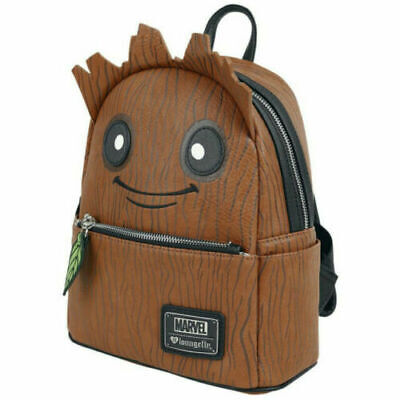 Official Loungefly Marvel Guardians of the Galaxy Groot Mini Backpack Bag