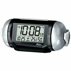 PYXIS (Pyxis) alarm clock super Leiden digital radio clock loud NR... from Japan
