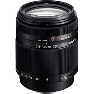 Sony DT 18-250mm f/3.5-6.3 Lens Not E mount