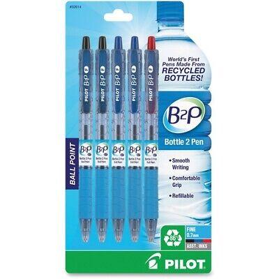 Pilot Bottle To Pen B2p B2p Recycled Retractable Ballpoint Pens - Fine Pen Poi
