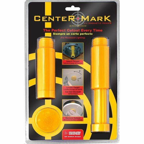 Calculated Industries 8110 Center Mark Magnetic Drywall Locator Tool
