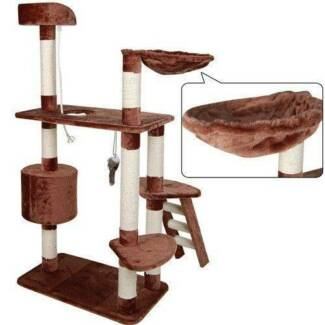 Cat Scratching Post Tree Gym House 160cm Furniture Scratcher Pole Gosnells Gosnells Area Preview