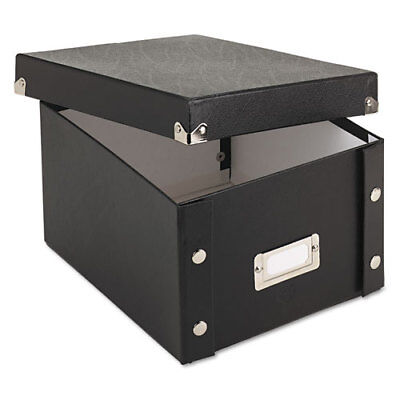 Collapsible Index Card File Box, Holds 1,100 5 x 8 Cards, (Collapsible Index Card File Box)