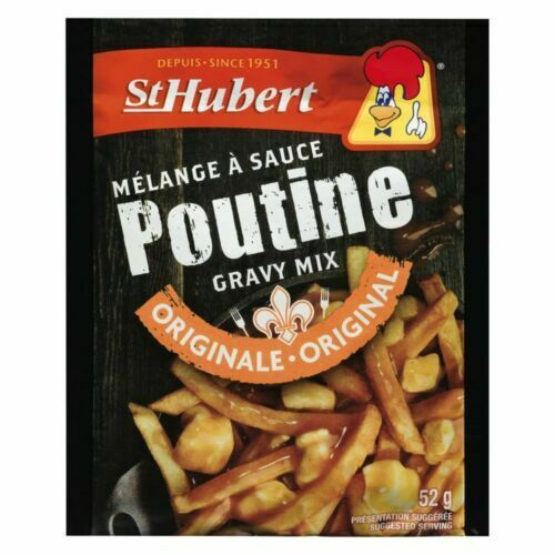 BIG 12 PACK St-Hubert Poutine Original Gravy Sauce Mix 52g -FRESH AND DELICIOUS!