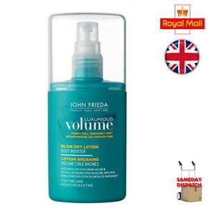 John Frieda Luxurious Volume Blow Dry Lotion Root Booster 125ml Brand New Box Ebay