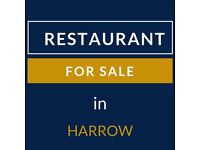 Restaurant for Sale in Harrow | Renewable Lease Upto 2020 | Rent: 1450/mth | Business: £17,000/mth