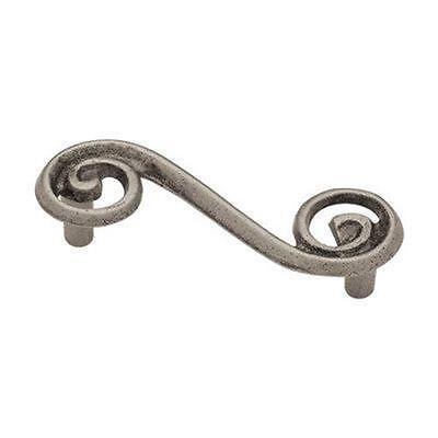 Swirl Pull Double Kitchen Cabinet Dresser Hardware P17066