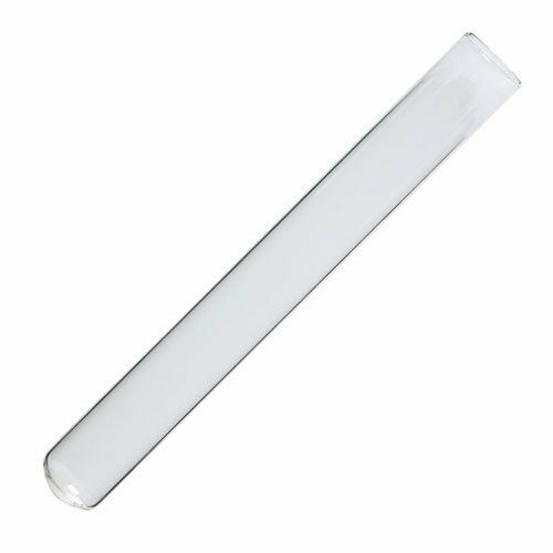25x200mm Borosilicate Glass Test Tubes - Karter Scientific 212X8 (pack of 5)