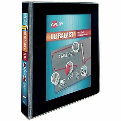 "Avery 1.5"" Ultralast 3 Ring Binder, One Touch Slant Ring, Ho"