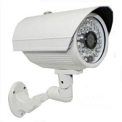 1800TVL 48Night Vision IR CUT Color Indoor Outdoor Security Camera Bullet CCTV