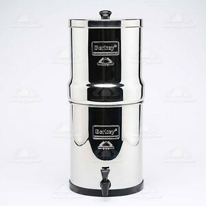 Big berkey water filter purify with 2 black filters authorized dealer