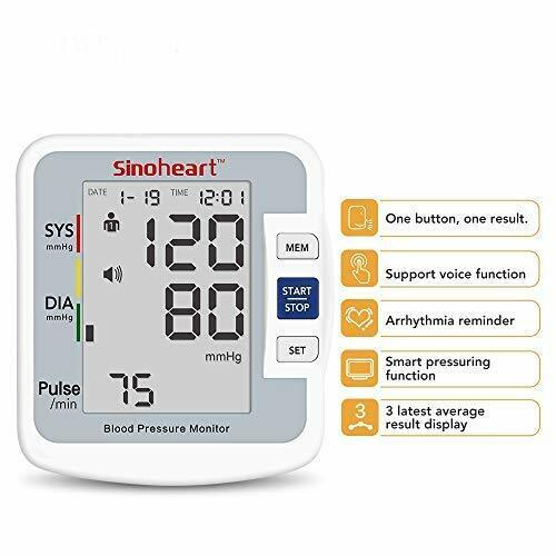 Sinocare blood pressure monitor Automatic Upper Arm Blood Pr