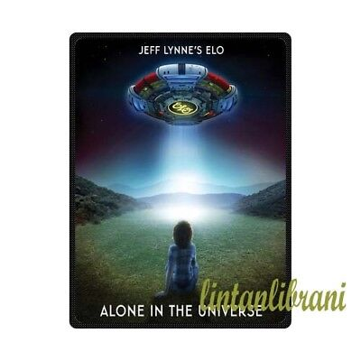 Electric Light Orchestra Alone In The Universe Custom Soft Fleece Throw Blanket