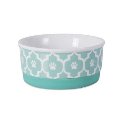 Dish Bowl For Food & Water Dog Cat Feeder Cute Pet Bowl Non-Skid Silicone Rim