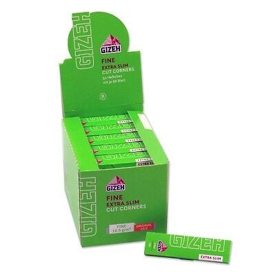 Gizeh Fine Extra Slim Zigarettenpapier 50X66/ Blättchen