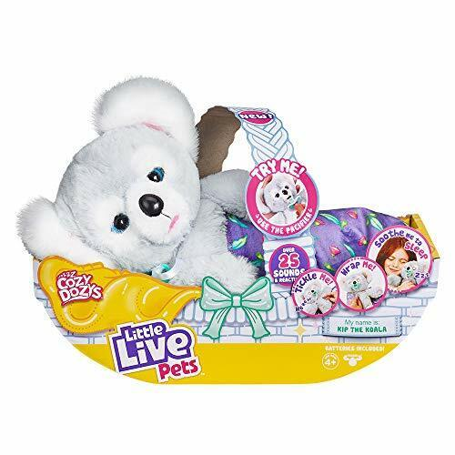 Little Live Pets Cozy Dozy Kip The Koala Bear - Over 25 Sounds and Reactions ...