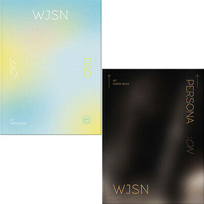 WJSN PHOTO BOOK [ON & OFF] EGO:OFF & PERSONA:ON 2 Ver SET 2DVD+2Book+Card+etc