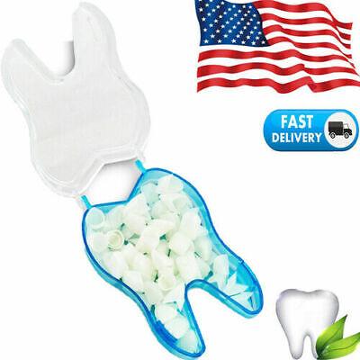1 Box Tooth Dental Temporary Crown Veneers Anteriors Front Resin Teeth Dentist