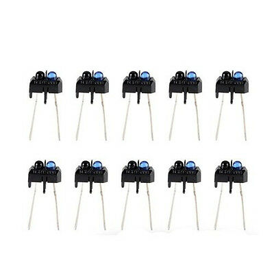 100pcs Tcrt5000 Reflective Photoelectric Switch Infrared Optical Sensor