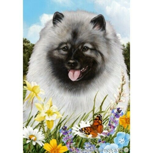 Summer House Flag - Keeshond 18017