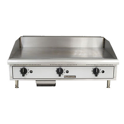 Toastmaster Tmgt24 Gas Countertop Griddle 24 W Thermostatic Controls