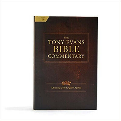 The Tony Evans Bible Commentary Hardcover – October 1, 2019