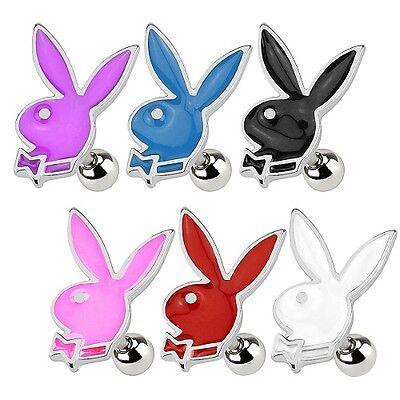 Tragus Ohr Piercing Schmuck Stecker Playboy Bunny - Playboy Bunny Ohren