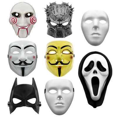Batman / Scream / Vendetta / Guy Fawkes / Saw / Predator Maske Halloween Kostüm ()