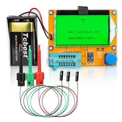 12864 Mega328 Esr Transistor Resistor Diode Capacitor Mosfet Tester Checker