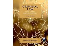 Criminal Law: Text, Cases, and Materials, Sixth Edition, Jonathan Herring