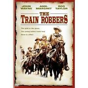 The Train Robbers DVD