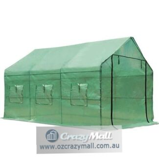 PVC Greenhouse with Green PE Cover 3.5Mx2Mx2M