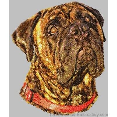 Embroidered Sweatshirt - Bullmastiff DLE1498 Sizes S - XXL