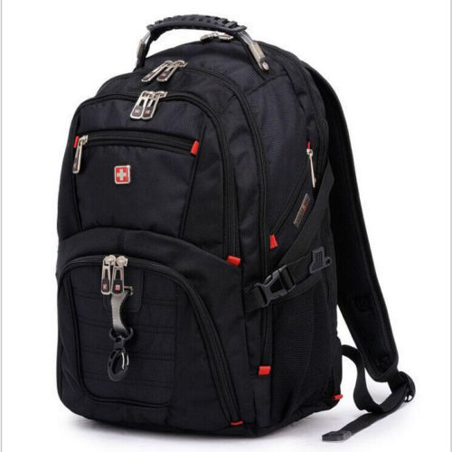 Swiss gear Waterproof Travel Bag Laptop Backpack Computer Notebook College Bag