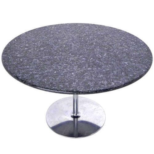 round granite table top ebay. Black Bedroom Furniture Sets. Home Design Ideas