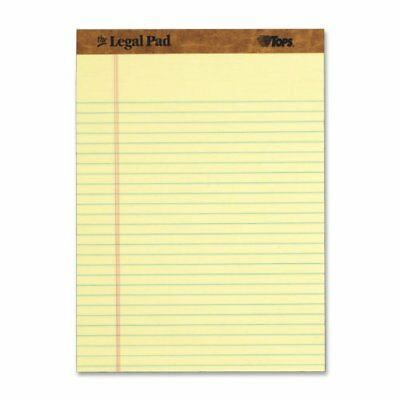 Tops The Legal Pad Ruled Top Perforated Pad - 50 Sheet - 16 Lb - 8.50 Top7532