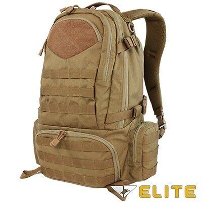 Condor 111073 BROWN Tactical Elite Titan Assault Hiking Travel Combat Backpack