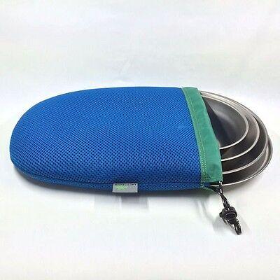 AMG Titanium Lightweight Outdoor Camping Cookware Backpacking Plate 4pcs Set