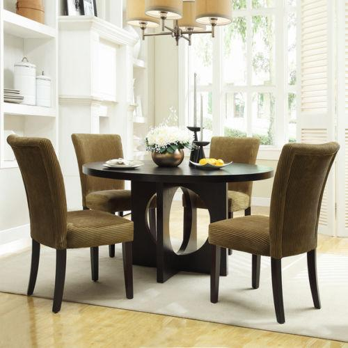 Round dining room sets ebay for Ebay dining room furniture