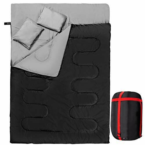 Extra Large Sleeping Bag 2 Two Person Adult Queen Double Cold Weather XL Hiking