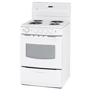 General Electric 24 inch electric coil stove/top range