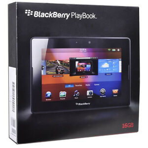 New BlackBerry PlayBook PRD-38548-001 16GB Wifi 7