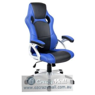 Premium PU Leather Sporty Racing Style Office Chair