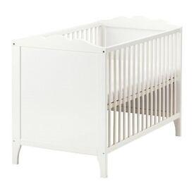 Baby Cot White 60x120