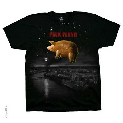 New PINK FLOYD Pigs Over London T Shirt