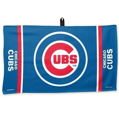 Brand New MLB Chicago Cubs 14 X 24 Waffle Team Golf &  Work Out Towel ()