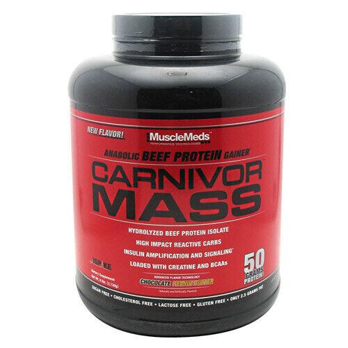 MuscleMeds Carnivor Mass, Chocolate Peanut Butter, 5.6 Pound