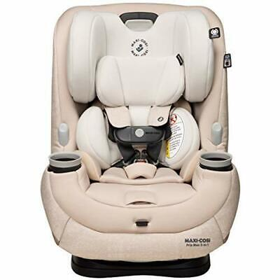 Maxi-Cosi Pria Max 3-In-1 Convertible Car Seat, Nomad Sand, One Size, New