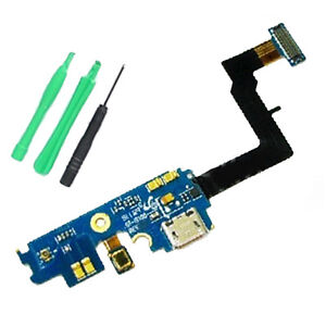 USB Charging Dock Port Flex Cable with Mic for Samsung Galaxy S2 I9100 - REV2.3